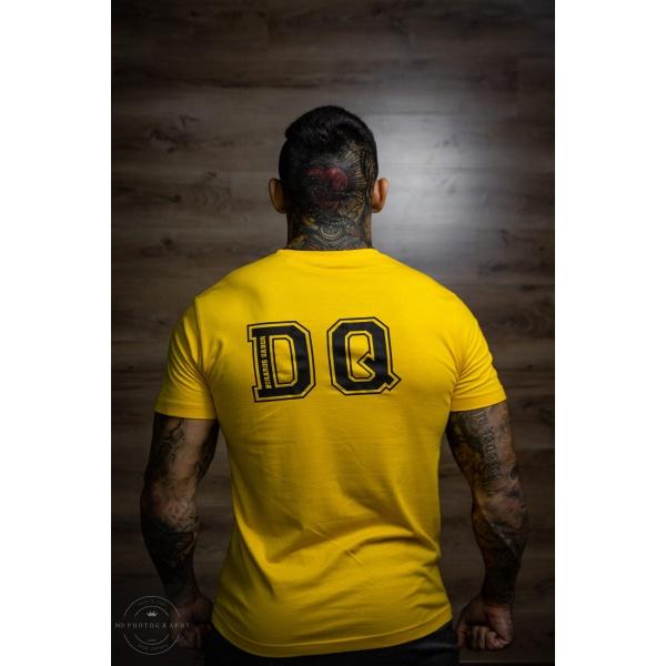 Boraros Gabor tricko signature yellow